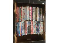 Box of 50 DVD's