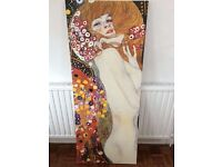 Klimt artwork canvas for wall Ikea large