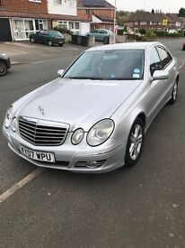 Mercedes E Class 2007 Avantgarde , Full Leather, MOT till May 2018, Automatic