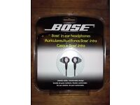 Bose in-ear headphones ; unwanted present, BNIB