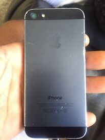 iPhone 5 Black *unlocked 16GB