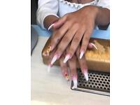 Mobile nail technician also beauty therapist