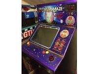 Crystal Maze Arcade Machine ,Mario etc