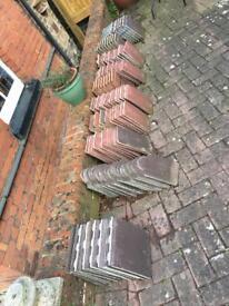 Various Size Redland Concrete Roof Tiles