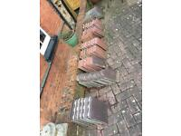 Various Size Redland Concrete Roof Tiles