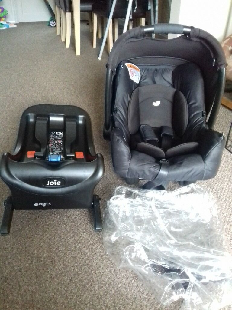 Joie Car Seat And Isofix Base Also A Universal Raincover
