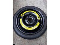 Car space saver spare wheel T 105/70R14