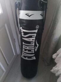 Never Used, Everlast Heavy Bag £30 ono