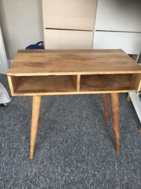 Wooden writing desk/console table