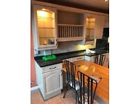 Excellent Condition - used Kitchen, two ovens, induction hob & granite worktop