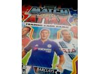 Match Attax premier league cards 2016/2017.