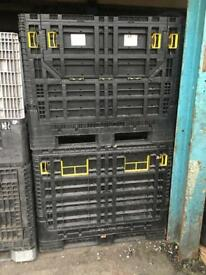 Strong Wood And Collapsable Heavy Duty Plastic Containers/Crates/Pallets Can Deliver