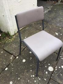 Industrial look chair