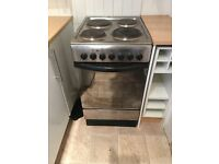 Free Standing Electric Indesit Hob and Oven 500Wide x 900High x 600Depth.