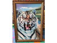 3D Hologram pic of tiger