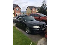 SAAB93 convertible black 72000