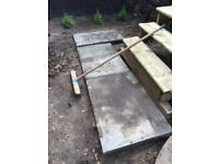 FREE 7 x BIG HEAVY DUTY PAVING SLABS