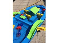 Nautical water play station (portable)