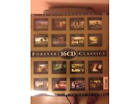 2 sets of 16 classical music CDs