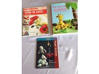 Cake Decorating Books x 3 £10