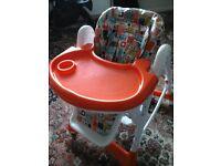 Kiddiecare high chair