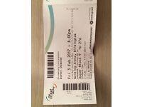 DONNY OSMOND TICKET - Genting Arena 3rd Feb