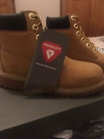 Junior timberland boots brand new with tags