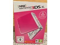 Pink & White New 3DS XL version - Brand New