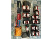Motorcycle Inner Tubes, Mixed Sizes 20 odd, Mainly GBC