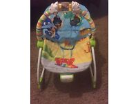 Baby rocking chair with music and vibration