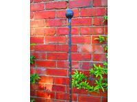 Wrought Iron Plant Stakes Supports