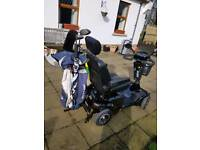 Golf buggy single seater