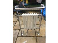 Bathroom Radiator includes all valves and fittings collection only quite heavy