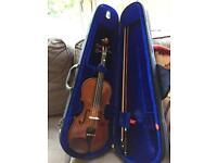 Violin half size