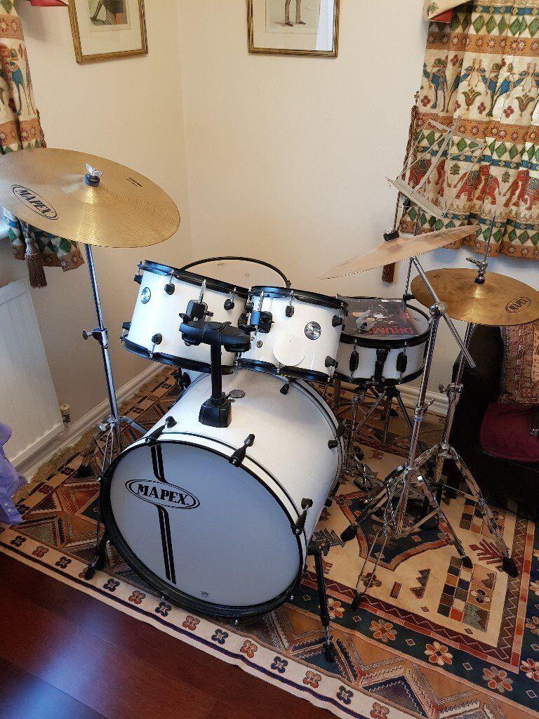 Mapex Voyager Drum Kit Ideal For Beginner Improver In Swindon