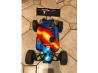 Rc nitro buggy car Rex x with force 25 engine
