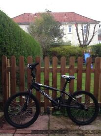 Atra Freestyle bmx bike with stunt pegs. As new