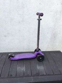 Childs micro scooter