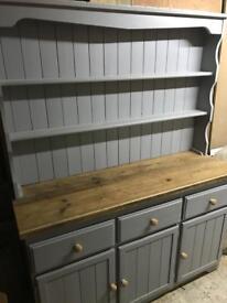 Pine rustic dresser