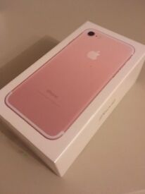 iphone 7 Rose Gold.