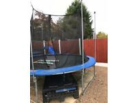 Free trampoline and climbing frame free