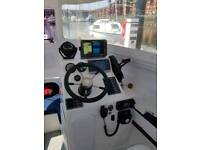 Large fishing/sport Boat with £2000 3D Down Scanner added.