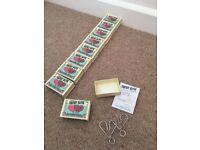 Matchbox Puzzle wedding/party favours - love x 4 kinds