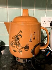 Electric Clay pot for TCM Herbs/ Medicine.