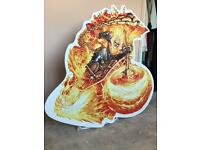 GHOST RIDER life size CUT-OUT Marvel Comics