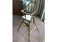 Ikea Wooden High Chair