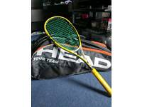 Black Knight Squash Racket with free Bag