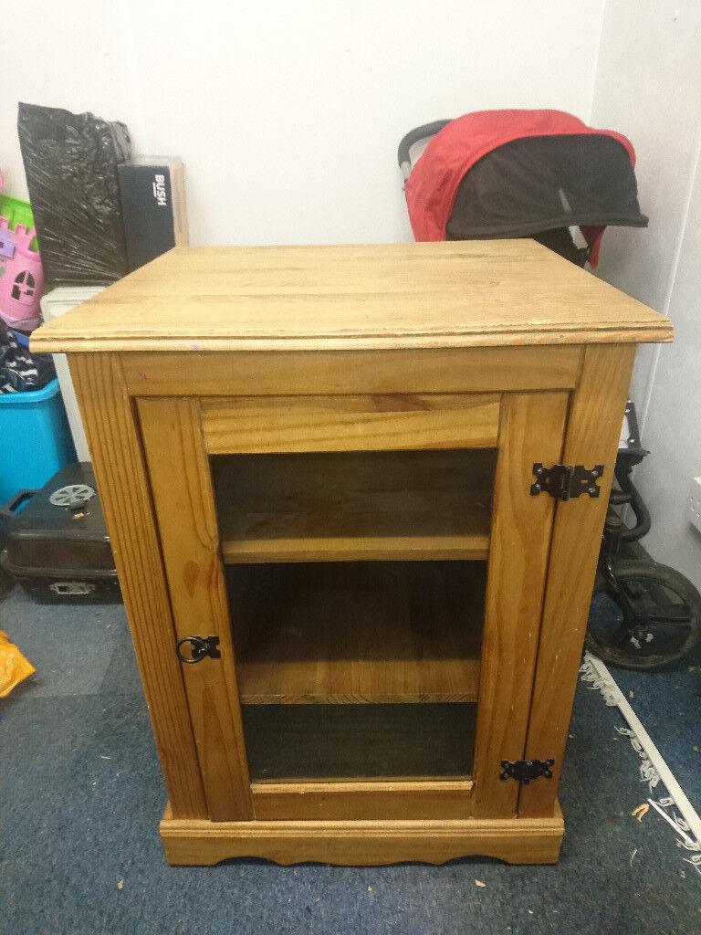 Corona Solid Wood Tv Hi Fi Cabinet In Bournemouth Dorset Gumtree # Hifi Furniture Wood High Quality