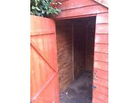 Garden Shed 6X4 Free for collection and dismantle to take away