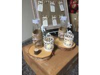 Wedding 18 Rustic birdcage candle holders